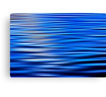 Motion in Blue Canvas Print