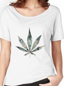 Pot Leaf Women's Relaxed Fit T-Shirt