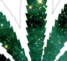 Galactic Pot Leaf Sticker