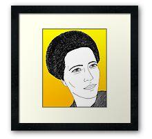 Simone de Beauvoir Framed Print