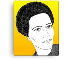 Simone de Beauvoir Canvas Print