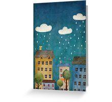 Rain Greeting Card