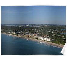 Looking South over Vero Beach Poster