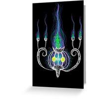 chandelure  Greeting Card