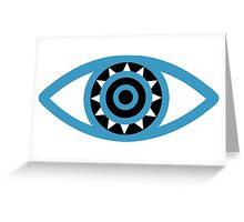 mystic eye Greeting Card