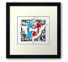 Twenty One Pilots Doodle Framed Print
