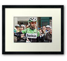 Laurens ten Dam (Belkin Pro Cycling Team) Framed Print