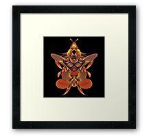 Emperor Wasp Framed Print