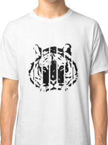 Tiger Stripes Black Classic T-Shirt