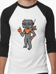 roe pixel art Men's Baseball ¾ T-Shirt