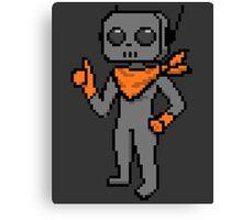 roe pixel art Canvas Print