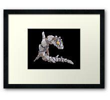steelix Framed Print