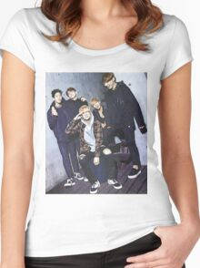 Day6 - Group Women's Fitted Scoop T-Shirt