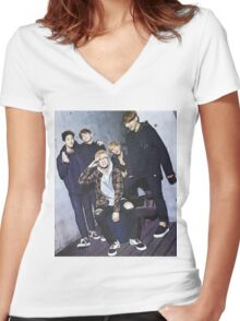 Day6 - Group Women's Fitted V-Neck T-Shirt