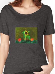 Piet's Sunflower in a Vase Women's Relaxed Fit T-Shirt