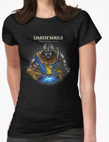 Darth Souls Womens Fitted T-Shirt