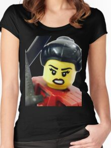 Samurai Women's Fitted Scoop T-Shirt