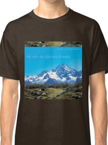 mfa the difference it makes Classic T-Shirt