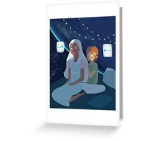 Allura and Pidge  Greeting Card
