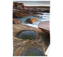 Last Rays and Rock Pools Poster