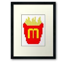 MC CHIPS Framed Print