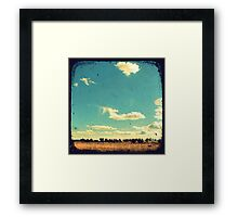 Thunderbolt Country Through The Viewfinder (TTV) Framed Print