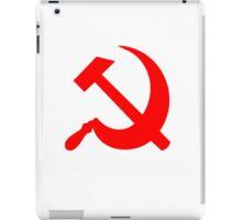 Hammer and Sickle - Communist Symbol  iPad Case/Skin