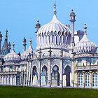Brighton Pavilion by Paula Oakley