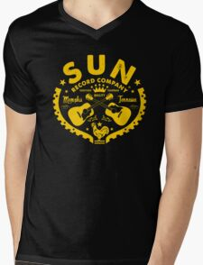 Sun, House Of Rock N' Roll Mens V-Neck T-Shirt