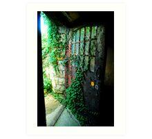 door to freedom Art Print