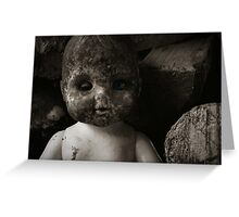 Sweet Baby Doll Greeting Card