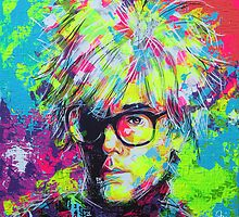 ANDY WARHOL by artxr