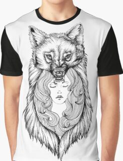 Wolves Will Keep You Warm Graphic T-Shirt