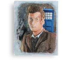 10th Dr Who Canvas Print