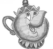 Beauty and the Beast | Mrs Potts by AlwaysRoseArt
