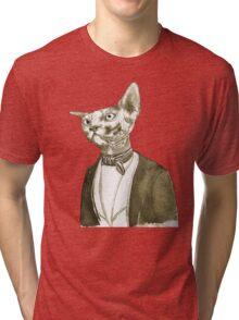 Mr. Sphinx Tri-blend T-Shirt