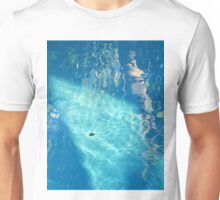 Pool Reflections with Leaf Unisex T-Shirt