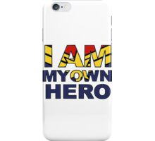 My Own Hero Captain Marvel iPhone Case/Skin
