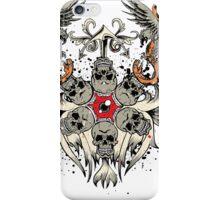 gothic skull iPhone Case/Skin