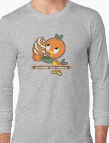 Citrus Swirl Orange Bird Since 71 Long Sleeve T-Shirt