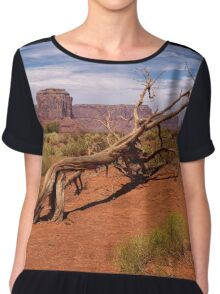 Gnarled Beauty of the Valley Chiffon Top