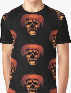 Halloween Pumpkin Graphic T-Shirt