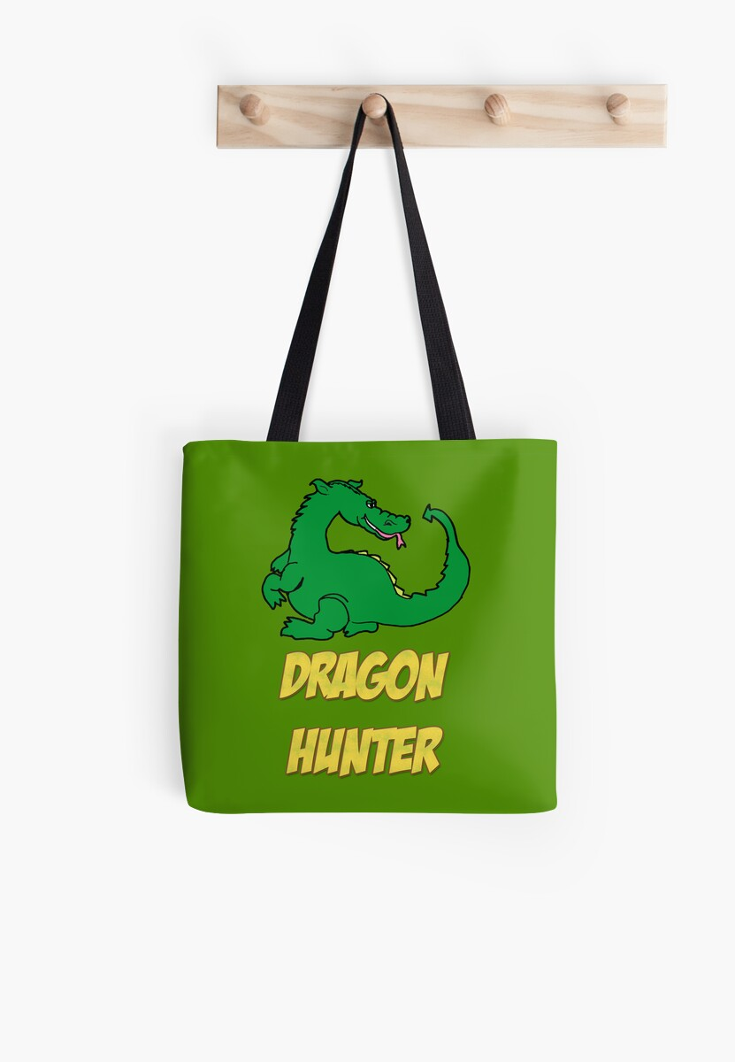 Dragon Hunter Tee Shirt by Harry James Grout