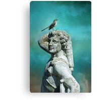 Grecian Mockingbird  Canvas Print