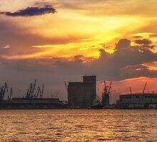 Industrial Sunset  by V-Light