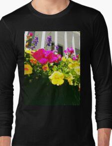 Window Box Long Sleeve T-Shirt