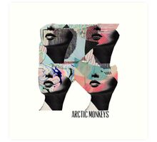 Arctic Monekys Artwork T-Shirt Art Print