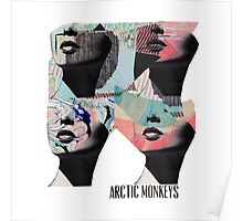 Arctic Monekys Artwork T-Shirt Poster