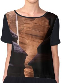 Shapes and The Light Beam Chiffon Top