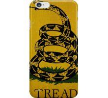 Gadsden Flag, Don't Tread On Me iPhone Case/Skin
